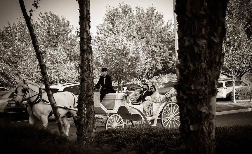 Couple's at the carriage
