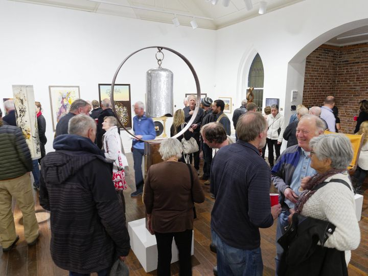 Inside gallery east during our members' show