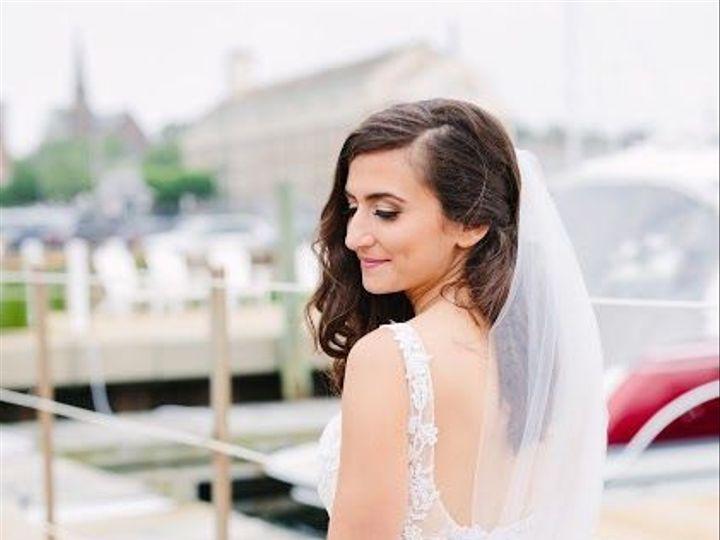 Tmx 1537305086 1216fd36603d6fc0 1537305085 76c038b8ee6a9f0d 1537305089193 1 GeenaCraigMarried0 East Greenwich, Rhode Island wedding beauty