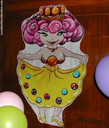 """""""Princess Lolly"""" for a """"Candyland"""" theme (remember the board game from the 80's edition?)"""
