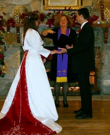 Christmas Wedding at Lake Lure Inn