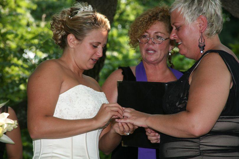 reverend jacqueline weiks officiant weddingwire