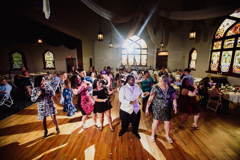 Dance floor - Erica Kay Photography