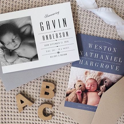 Tmx 1459433461995 Birth Announcement 5 Morristown wedding invitation