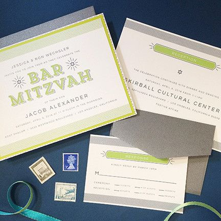 Tmx 1459433504407 Mitzvah 2 Morristown wedding invitation