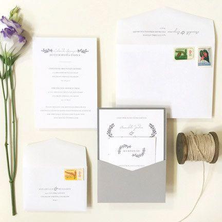 Tmx 1459433557314 Wedding Invitation1 Morristown, NJ wedding invitation