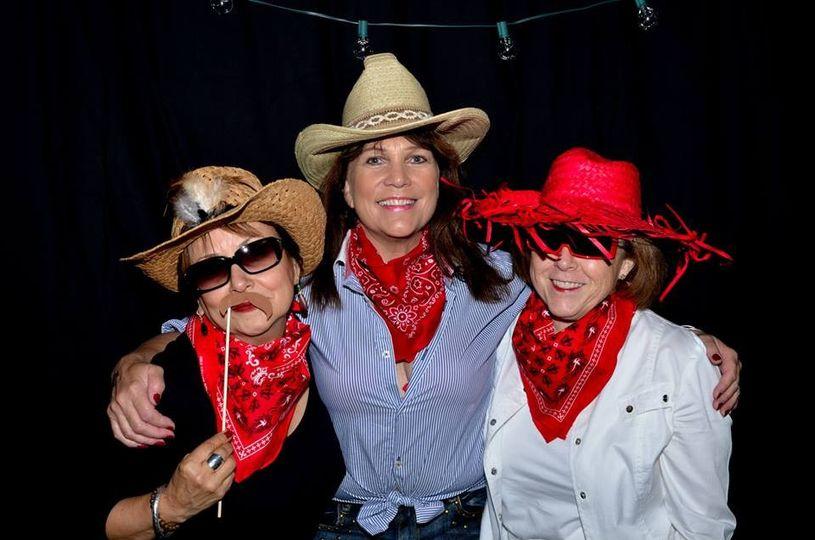 Cowgirls having some fun!