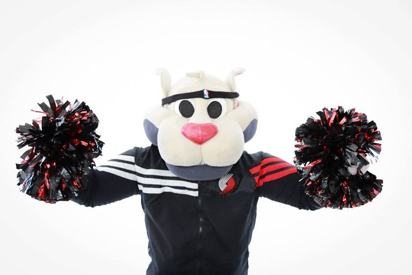 The Mascot likes to have fun too!