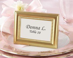 Tmx 1445009830028 Beautifully Beaded Gold Photo Frame Place Card Hol San Jose wedding favor