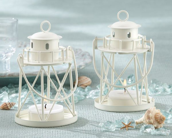 Tmx 1445009860392 By The Sea Lighthouse Tea Light Holder Favors Beac San Jose wedding favor