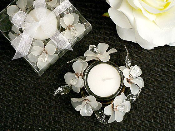 Tmx 1445009895575 Elegant Frosted White Glass Flowers Candle Holder  San Jose wedding favor