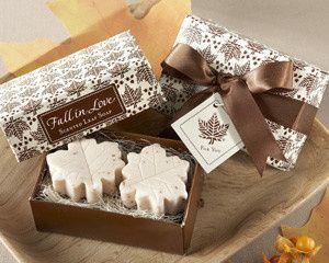 Tmx 1445009921505 Fall In Love Scented Leaf Shaped Soap Fall Soap Fa San Jose wedding favor