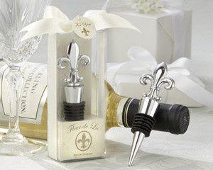 Tmx 1445009927404 Fleur De Lis Elegant Chrome Bottle Stopper Favors  San Jose wedding favor