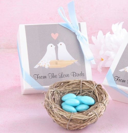Tmx 1445009992642 Love Nest Favor Boxes With Amorini Chocolate Weddi San Jose wedding favor