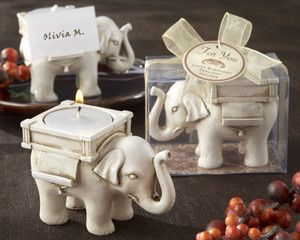 Tmx 1445009999631 Lucky Elephant Antique Ivory Finish Tea Light Hold San Jose wedding favor
