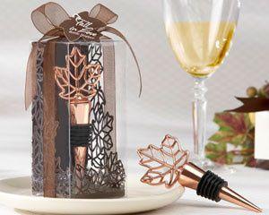 Tmx 1445010005250 Lustrous Leaf Copper Finish Bottle Stopper In Lase San Jose wedding favor