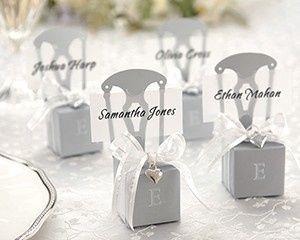 Tmx 1445010023455 Monogrammable Mini Silver Chair Favor Box With Hea San Jose wedding favor