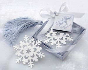 Tmx 1445010100398 Snowflake Bookmark Elegant Winter Favors 15 San Jose wedding favor
