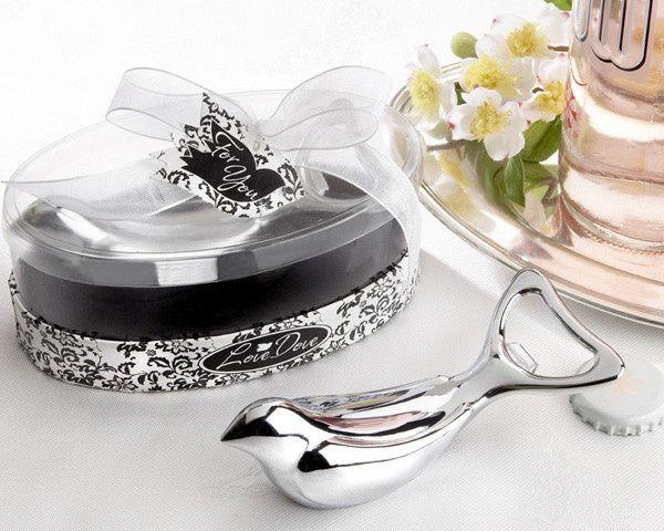 Tmx 1445010147827 The Love Dove Chrome Bottle Opener In Elegant Oval San Jose wedding favor