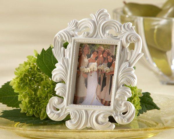 Tmx 1445010169611 White Baroque Elegant Place Card Holder Photo Fram San Jose wedding favor