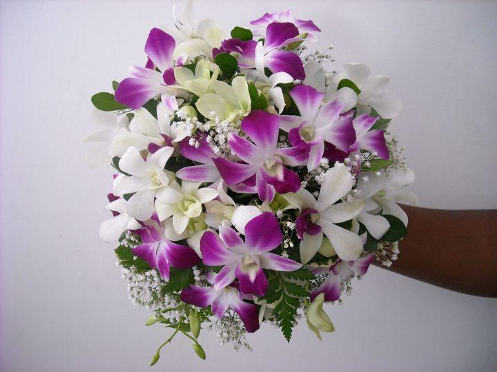 orchids bouquets