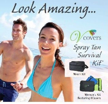 Our Spray Tan Survival Kits are great for any event that you'd want to be spray tanned to achieve...
