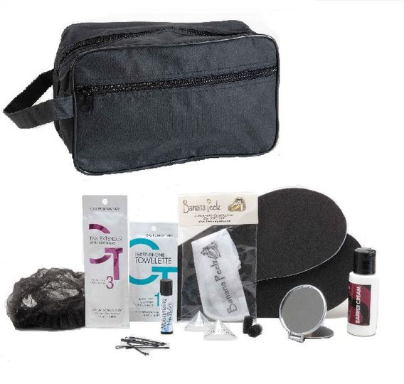 Spray Tan Survival Kit for MEN contains 11 intimate disposables and other necessities for his best...