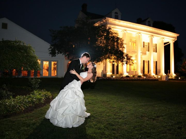 Tmx 1440257267504 Outside Manor At Night Couples Photo Bristow, VA wedding venue