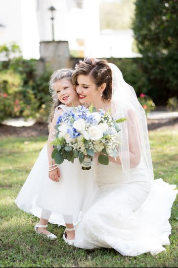 bride flower girl 51 573746