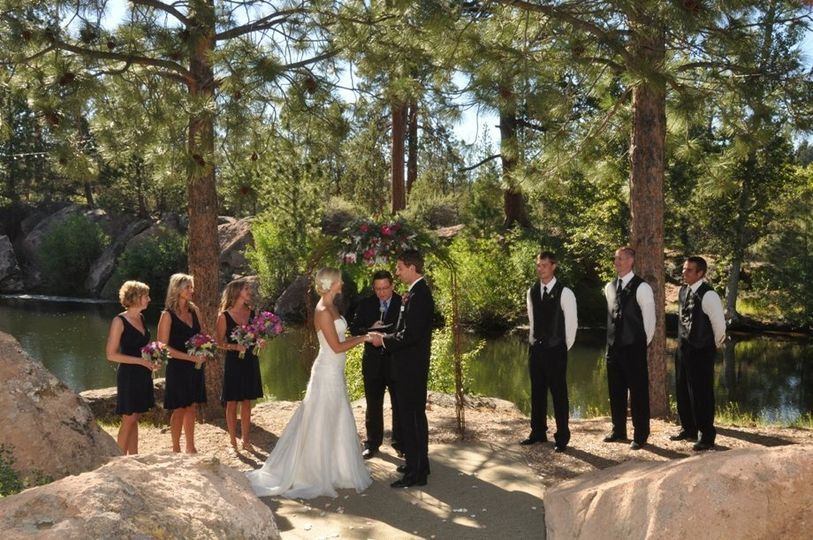 Dan and Marci's beautiful summer wedding.  Photos compliments of Cascade Photography