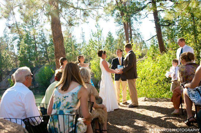 Cam and Kira's wonderful July wedding.  Photo compliments of Byron Roe Photography