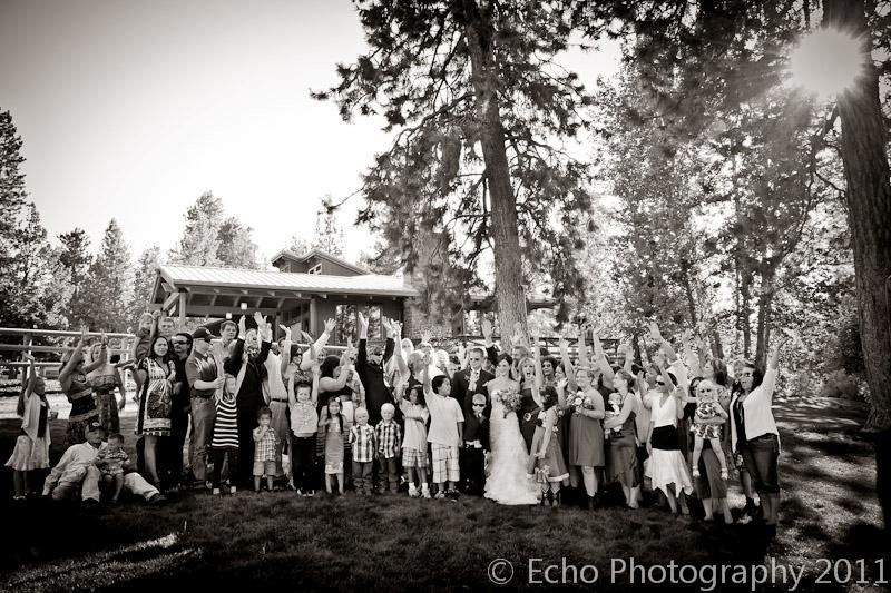 Shannon and Jayme's gorgeous September wedding!  Photos compliments of Echo Photography