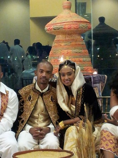 Traditional East African Wedding Party