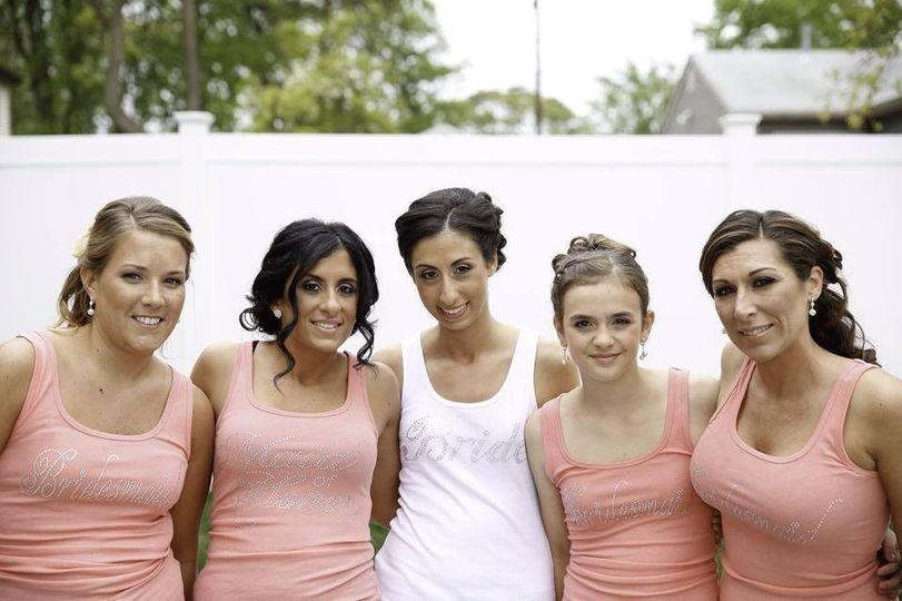 Beautiful Bride Angela & her bridesmaids!