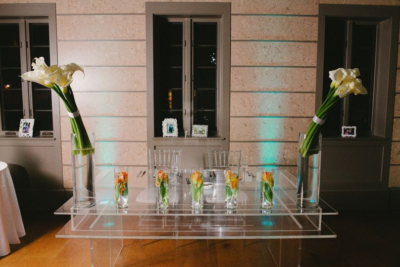 Flower table decors