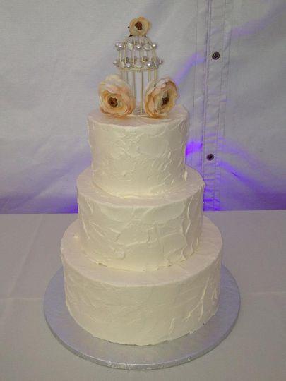 Walnut Creek Wedding Cake