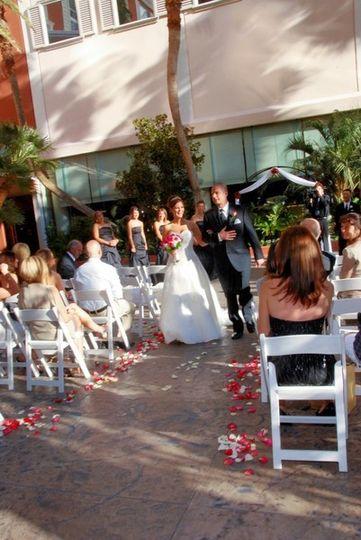 Oasis (poolside) ceremony