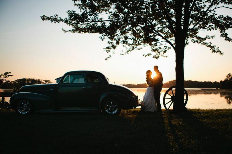 Sunset Couple's Portrait
