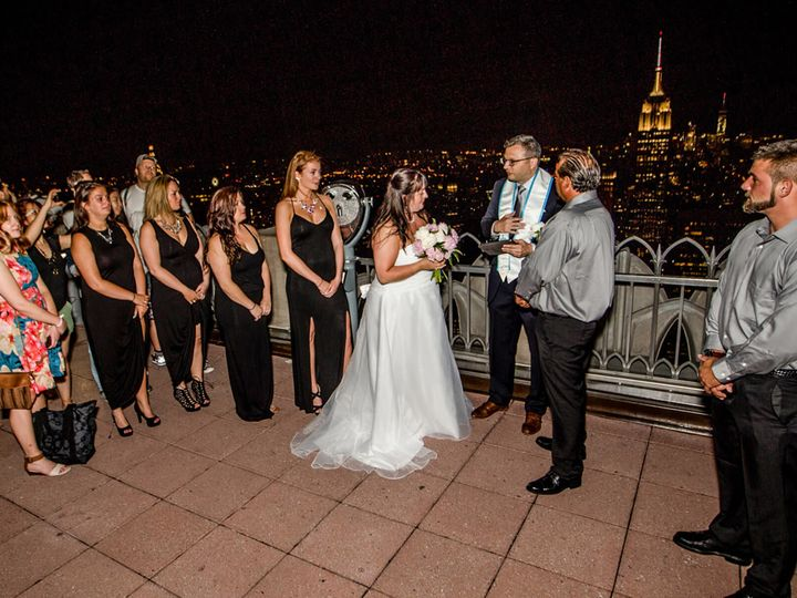Tmx 1520728946 Fa61d529c250d1ee 1520728945 4c51268d09c54584 1520728943766 1 TopOfTheRock Patri New York, New York wedding officiant