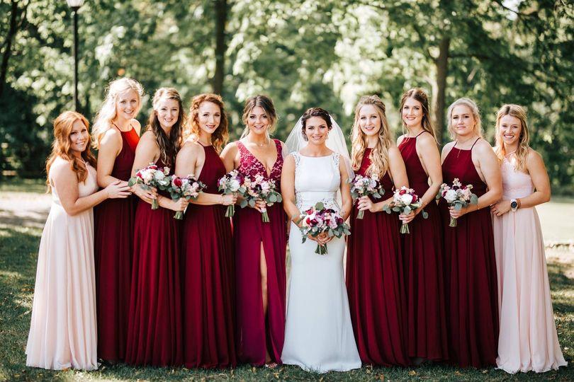 Lammers Wedding Bridesmaids