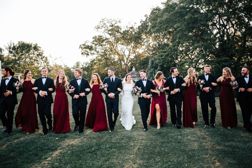Lammers Wedding Bridal Party