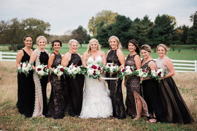 Kilian Wedding Bridesmaids
