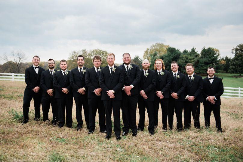 Kilian Wedding Groomsmen