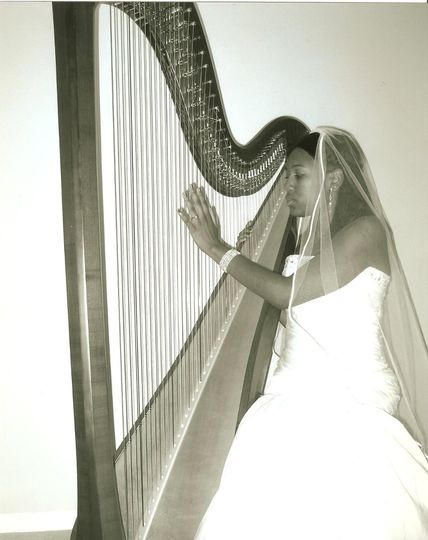 Harpist at Your Service