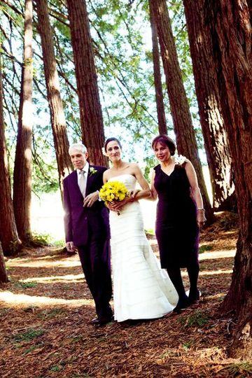 Red wood Wedding, Bosch Baha'i School, Santa Cruz, CA