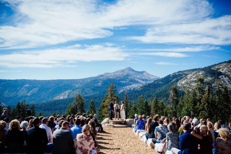 Scenic Overlook Ceremony