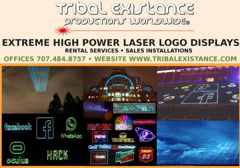 High Power Laser Billboards
