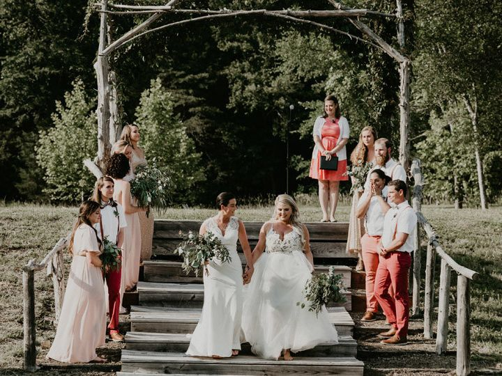 Tmx 1499878982488 Outdoor Wedding In Nc At Iron Horse By Trek And Bl Boise, Idaho wedding florist