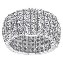 5 Row Diamond Beauty. 1.72ct   If you are looking for the perfect gift for a bride to be, a mother...