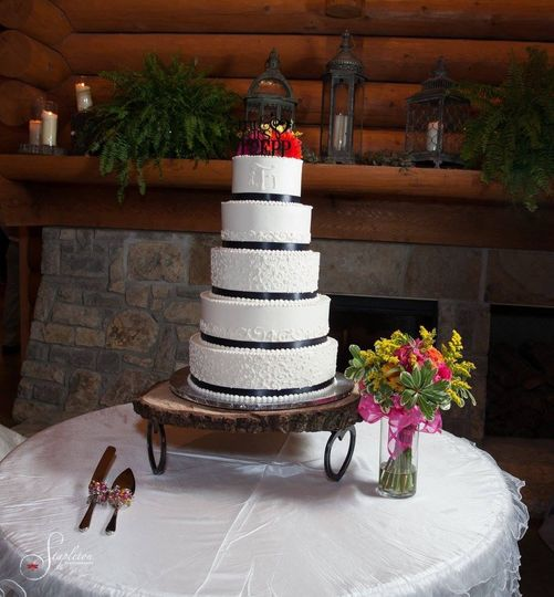 5 layered cake